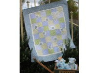 Be My Friend Cot Quilt 118cm x 95cm from Rivendale Collection